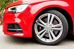 Audi S3 Sportback 2017 Test Drive Day Royalty Free Stock Image