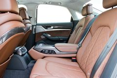 Audi S8 top grade interior Royalty Free Stock Photos