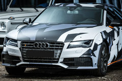 Audi S7 tuning Royalty Free Stock Image