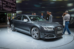 Audi S8 - world premiere Royalty Free Stock Photos