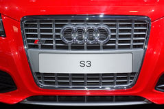 Audi s3 radiator Stock Photography