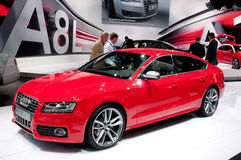 Audi S5 Sportback - russian premiere Stock Photography