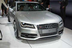 Audi S7 - russian premiere Stock Photography