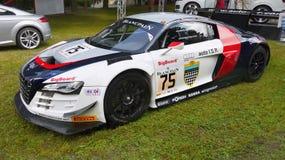Audi samochód wyścigowy Obrazy Stock