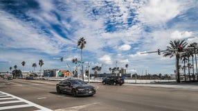 Audi samochodów Floryda Uliczny ruch drogowy obrazy stock