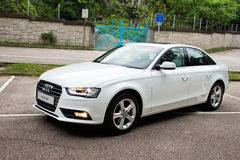 Audi A4 2012 Royalty Free Stock Photos