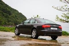 Audi A6 sedanu samochód 2013 Zdjęcia Royalty Free