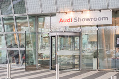 Audi Showroom imagen de archivo libre de regalías