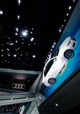 Audi showroom at the IAA Cars Stock Images