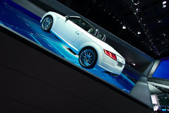 Audi showroom at the IAA Cars Royalty Free Stock Images