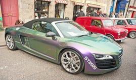 Audi sportów luksusowy samochód Zdjęcie Stock