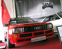 Audi Sport Quattro royalty free stock photos