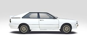 Audi sport Quattro royalty free stock photography