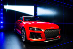 Audi sporta quattro laserlight pojęcie Obraz Stock