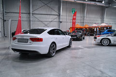 Audi A5 sportback Stockfotografie