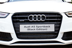 Audi A5 Sportback Black Edition 2014 Royalty Free Stock Images