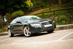 Audi A7 Sportback Royalty Free Stock Images