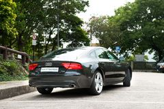 Audi A7 Sportback Stock Photos