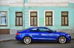 Audi A5 Sportback samochód w ulicie Obraz Stock