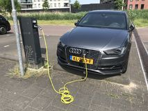Audi A3 Sportback Tron zdjęcia royalty free