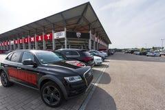 Audi Sportpark arena obraz royalty free