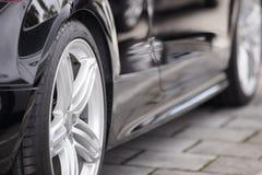 Audi Sports-autoband Royalty-vrije Stock Foto's