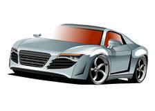 Audi sports car restyled Stock Photography
