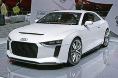 Audi Sportwagen Lizenzfreie Stockfotos
