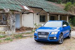 Audi SQ5 High Performance HatchBack Car Royalty Free Stock Photo