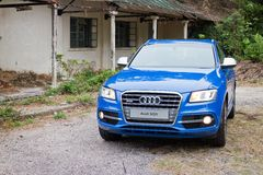 Audi SQ5 High Performance HatchBack Car Royalty Free Stock Image