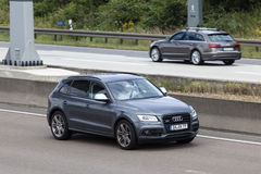 Audi SQ5 SUV on the road Stock Image