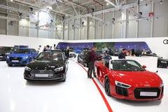 Audi stand at SIAB 2018, Romexpo, Bucharest, Romania. The international automobile saloon in Bucharest Stock Photo