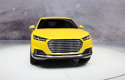 Audi Suv Stock Afbeelding