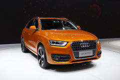 Audi Suv Royalty Free Stock Photography