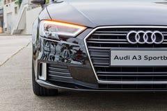 Audi A3 1 4T 2016 Prowadnikowy dzień obraz royalty free
