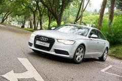 Audi A6 3.0T quattro Stock Images