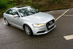 Audi A6 3.0T quattro Royalty Free Stock Photo