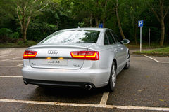 Audi A6 3.0T quattro Royalty Free Stock Photos