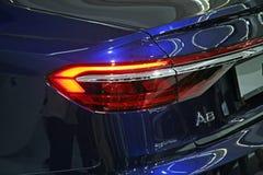Audi A8, tillbaka sida royaltyfria bilder