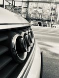 Audi in budapest royalty free stock photo
