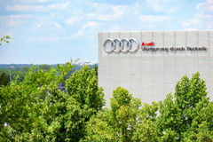 Audi training center Royalty Free Stock Images