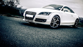 Audi TT closeup Royalty Free Stock Photo