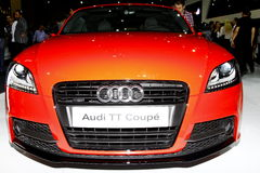 Audi TT Coupé 库存图片