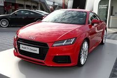 The Audi TT Coupé Royalty Free Stock Photo