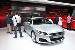 Audi TT Coupe at the AMI. Leipzig, Germany Stock Photo