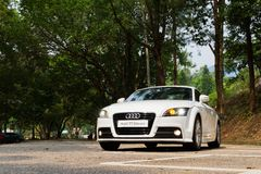 Audi TT Coupe 2012 Royalty Free Stock Image