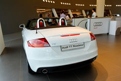 Audi TT on display at Audi Centre Singapore Stock Photos