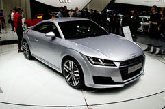 Audi TT Geneva 2014 Stock Image