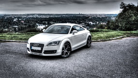 Audi TT Royalty Free Stock Image