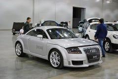 Audi TT nell'Expo 2012 del croco Immagini Stock Libere da Diritti
